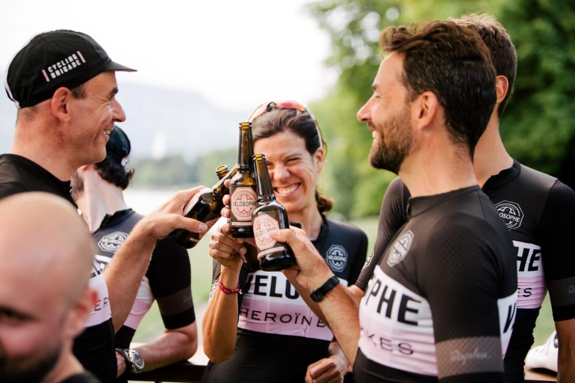 velosophe cyclist beer VHCB heroin bikes